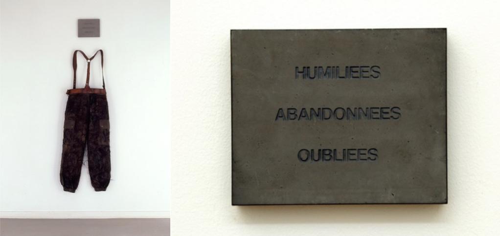 실비 블로셔, 1993, 설치, 빌뢰르반현대미술관 소장