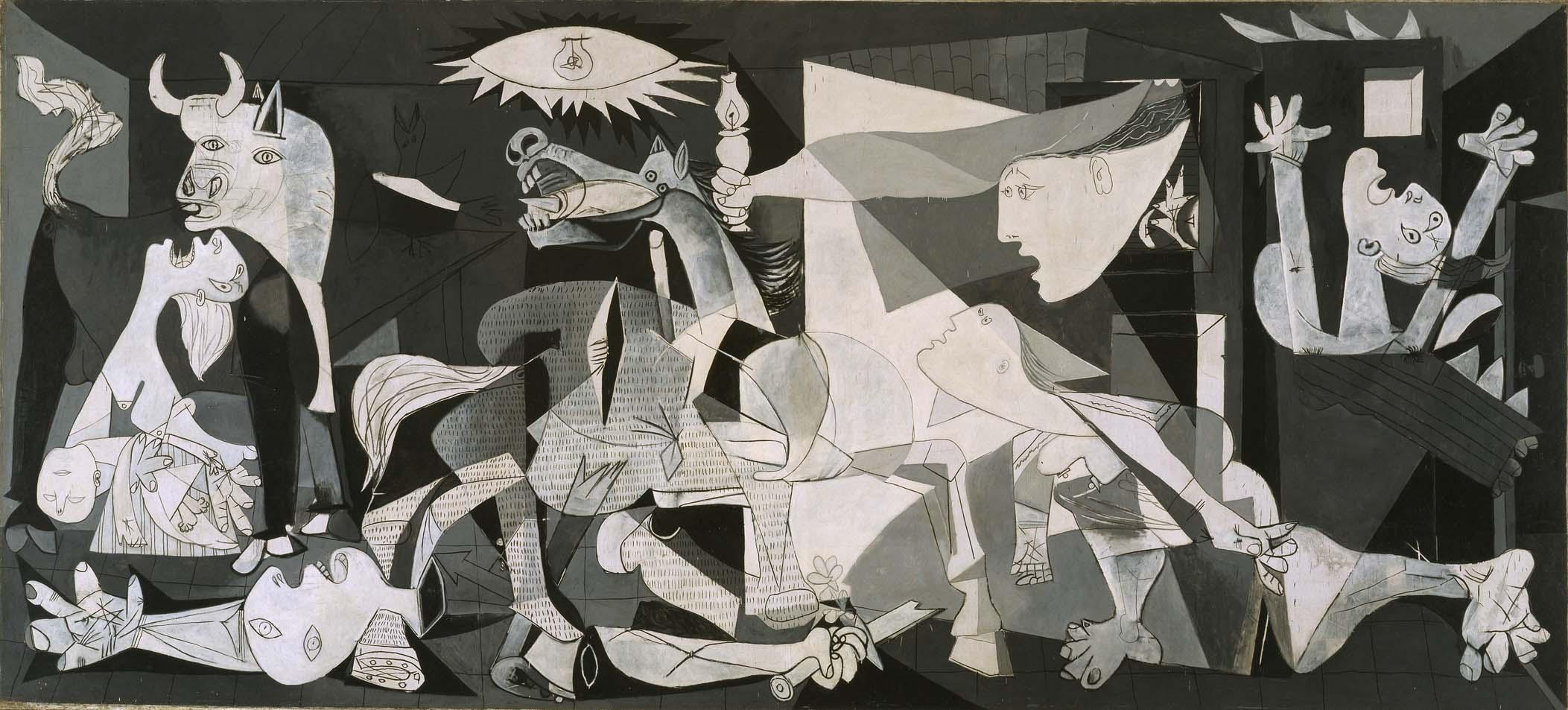 피카소, , 1937, 캔버스에 유화, 국립 소피아 박물관 소장