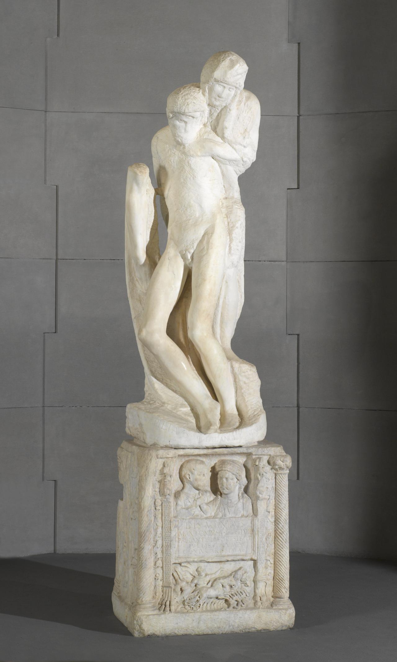 미켈란젤로 부오나로티(Michelangelo Buonarroti), , 1552-1564, 대리석, 스포르체스코 성
