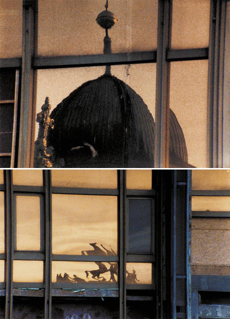 (태시타 딘, 2004), 16mm 컬러 필름의 스틸컷, 광학 음향, 10분 30초. 작가, 런던 프리스 스트릿 갤러리와 뉴욕/파리의 마리안 굿맨 갤러리 제공.