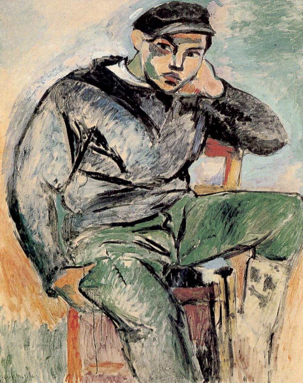 마티스, , 캔버스에 유화, 1906, 개인소장.