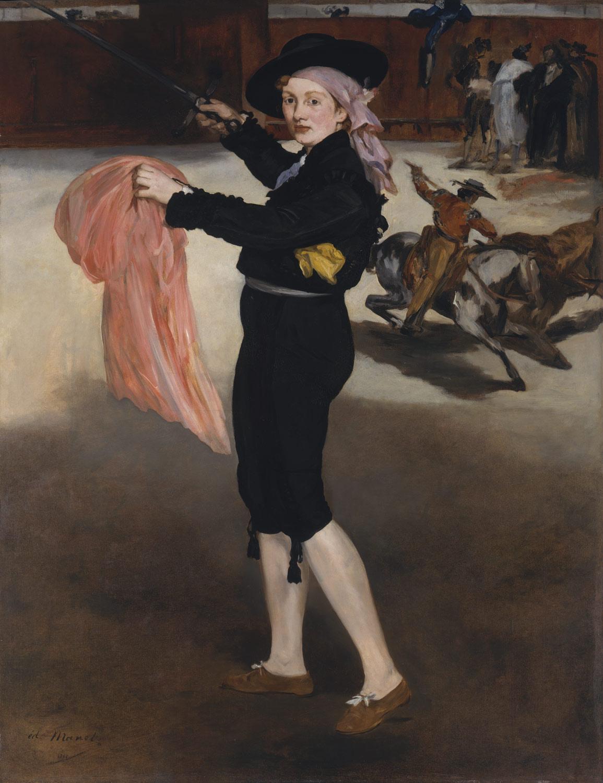 마네, , 캔버스에 유화, 1862, 메트로폴리탄 미술관 소장.