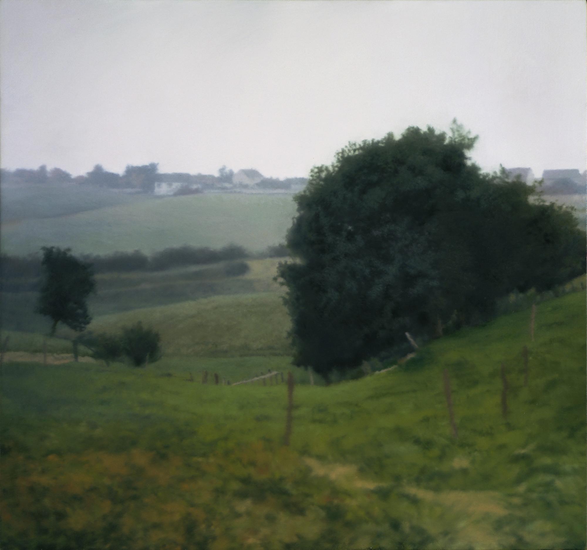 제프 월, 갑자기 휘몰아치는 바람 (倣 호쿠사이) 1993, 397cm x 250cm, Transparency on lightbox