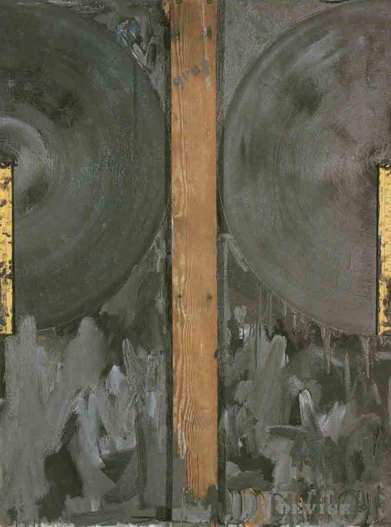 재스퍼 존스, , 1962. 볼티모어 미술관. 덱스터 M. 페리, 주니어(Dexter M. Ferry, Jr.) 신탁 회사와 에디트 페리 후퍼(Edith Ferry Hooper)가 제공한 기금으로 구매, BMA 1976.1. © 재스퍼 존스/ 시각예술가저작권협회(VAGA), 뉴욕, NY 인가.