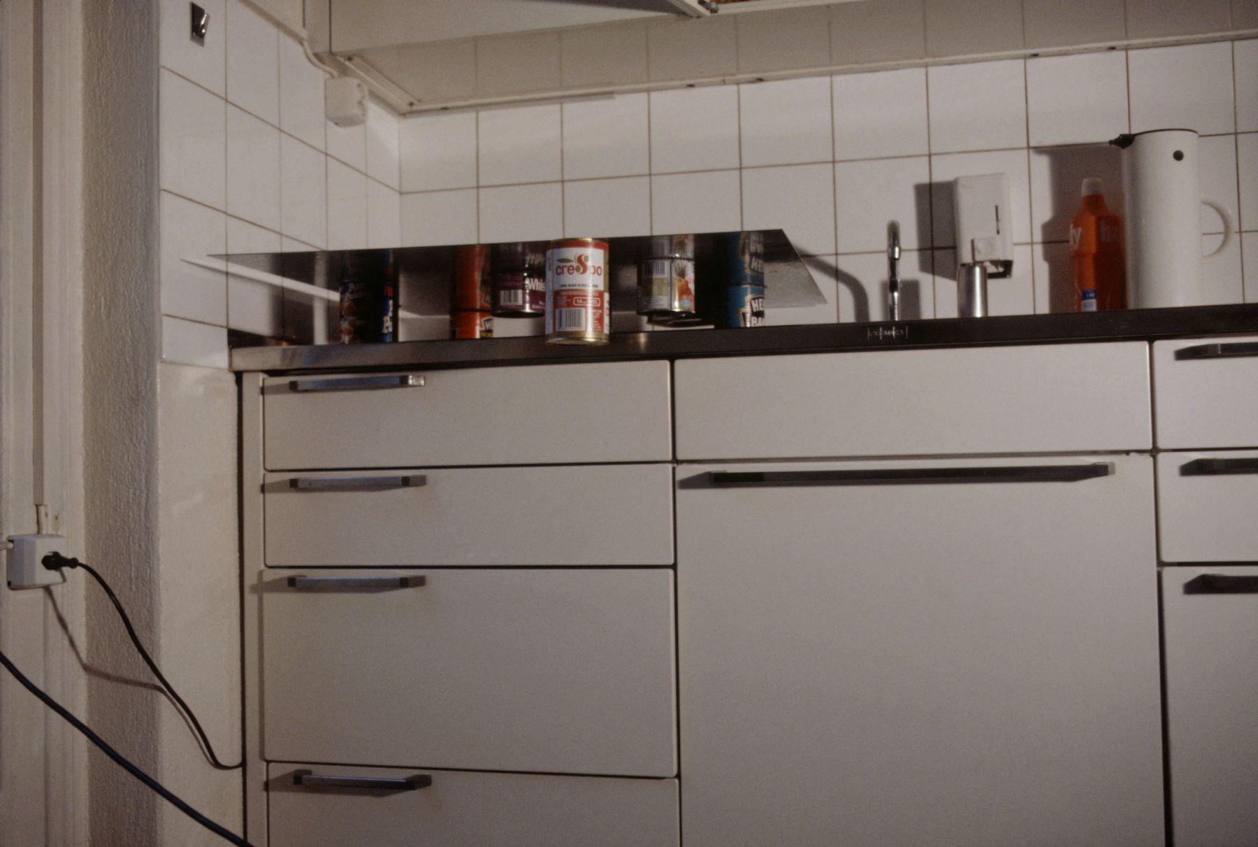 """Richard Wentworth installation for """"The Kitchen Show."""", 1991"""