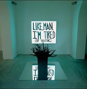 듀란트(Durant), 〈인간, 처럼, 나도 기다리는 데 지쳤다 Like, Man, I'm Tired of Waiting〉, 2002, ©샘 듀란트, 블럼 앤 포, 에미 폰타나 갤러리.
