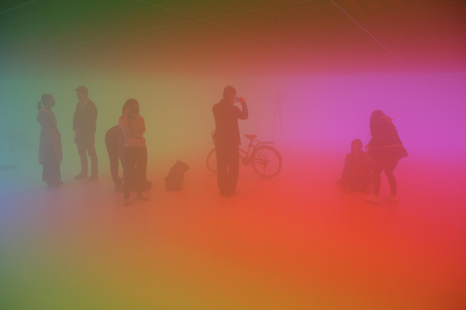 올라퍼 앨리아슨(Olafur Eliasson), 〈안개방 Fog Room〉, 2010